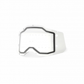 Racecraft / Accuri / Strata 2 Forecast Replacement Dual Pane Lens Clear