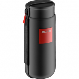 Takuin storage case  black with red logos