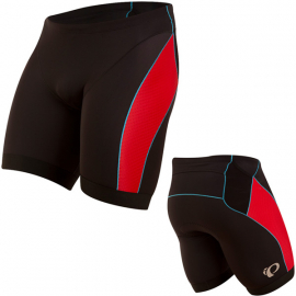 Men's ELITE Pursuit Tri Short  Black/True Red  Size S
