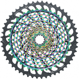 Cassette XG-1299 Eagle 10-52 12 speed Rainbow