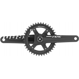 CRANK APEX 1 BB30 BLACK W 42T X-SYNC CHAINRING (BB30 BEARINGS NOT INCLUDED):  11SPD 175MM 42T