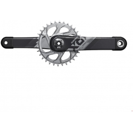CRANKSET X01 EAGLE DUB 12S WITH DIRECT MOUNT 32T X-SYNC 2 CHAINRING (DUB CUPS/BEARINGS NOT INCLUDED) C2: