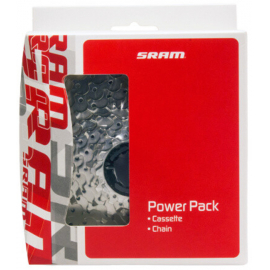 PowerPack PG-1030  cassette/PC-1031 chain 10 speed 11-32T