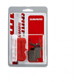 SRAM BRAKE PADS ORGANIC/STEEL (INCLUDES GUIDE PIN  CLIP & PAD SPREADER) - SRAM HYDRAULIC ROAD SRAM - AVID   ULTIMATE/TLM: