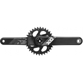 SRAM CRANK X01 EAGLE DUB 12S W DIRECT MOUNT 32T X-SYNC 2 CHAINRING (DUB CUPS/BEARINGS NOT INCLUDED):175MM
