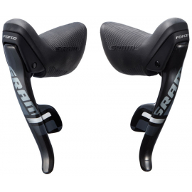 SRAM FORCE22 SHIFT/BRAKE LEVER SET 11-SPEED REAR YAW FRONT:  11 SPEED