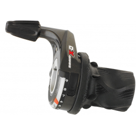SRAM X0 SHIFTER - GRIP SHIFT -REAR 1:1:  9 SPEED