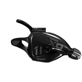 SRAM X01 SHIFTER - TRIGGER - 11 SPEED REAR W DISCRETE CLAMP BLACK:11 SPEED
